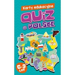 Karty Edukacyjne. Quiz o Polsce. 6-9 Lat
