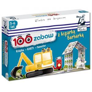 Kapitan Nauka. 100 Zabaw z Koparką Barbarką (5-6 Lat)