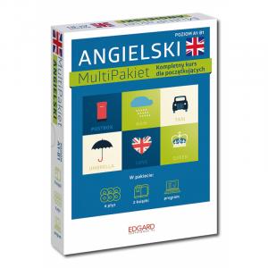 Angielski Multipakiet. Kompletny Kurs Dla Początkujących