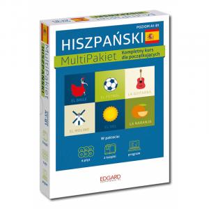 Hiszpański Multipakiet. Kompletny Kurs Dla Początkujących