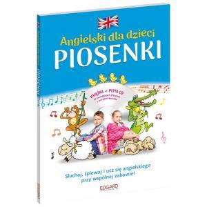 EDGARD Angielski Piosenki dla dzieci + CD wyd.II