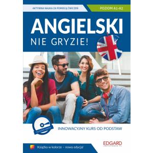 Angielski Nie Gryzie! + CD. Edycja w Kolorze