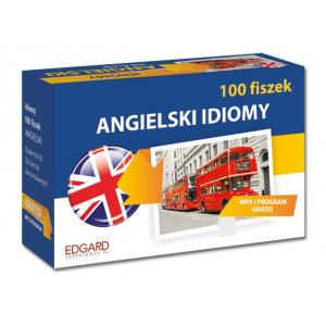 100 Fiszek Angielski. Idiomy + MP3
