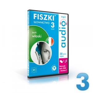 FISZKI Audio. Słownictwo 3   Język Włoski
