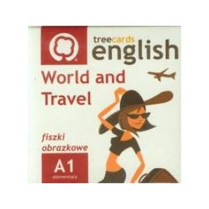 Fiszki. Język angielski. World and Travel. Treecards. A1 OOP