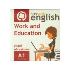 Work And Education Fiszki Obrazkowe A1. Treecards English + MP3