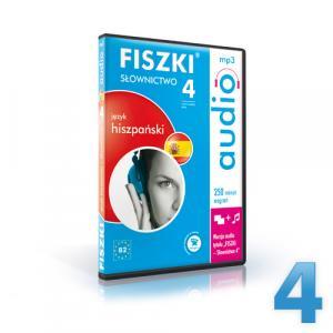 Fiszki Audio. Język hiszpański. Słownictwo 4 OOP