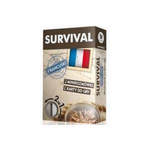 SURVIVAL. Język Francuski. Minirozmówki, Karty do Gry