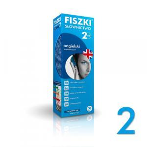 FISZKI Premium Słownictwo Angielskie Poziom 2