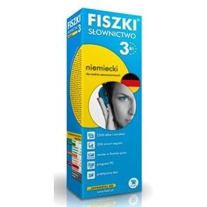 FISZKI Premium Słownictwo Niemieckie Poziom 3
