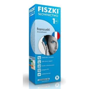 Fiszki Premium. Język francuski. Słownictwo 1. A1