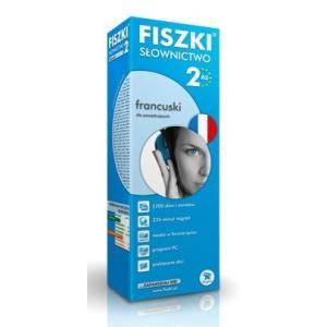 Fiszki Premium. Język francuski. Słownictwo 2. A2