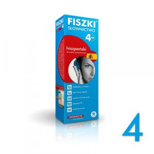 FISZKI Premium Słownictwo Hiszpańskie Poziom 4