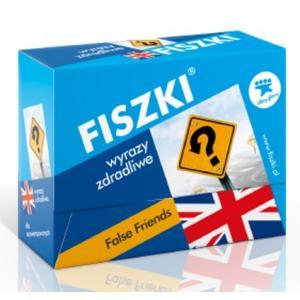 FISZKI Mini Premium. Angielskie Wyrazy Zdradliwe. False Friends