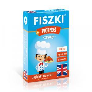 Fiszki Angielski dla Dzieci. Zawody + Gra Piotruś