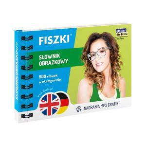 FISZKI. Słownik Obrazkowy: Język Angielski + Język Niemiecki