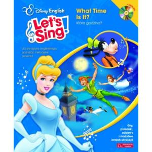 Disney English Let's Sing! What Time Is It? Która Godzina? + CD