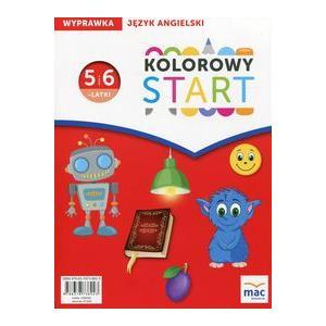 Kolorowy Start 5 i 6-latki. Język Angielski Wyprawka