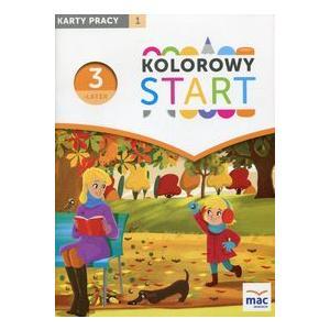 Kolorowy Start Trzylatek. Karty Pracy Część 1. Wychowanie Przedszkolne