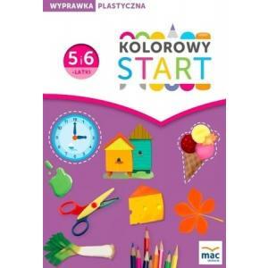 Kolorowy Start 5 i 6-latki. Wyprawka Plastyczna
