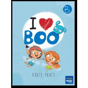 I Love Boo. Poziom B. Język Angielski. Karty Pracy