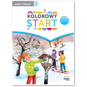 Kolorowy Start z Plusem (6-Latki).  Karty Pracy Część 2
