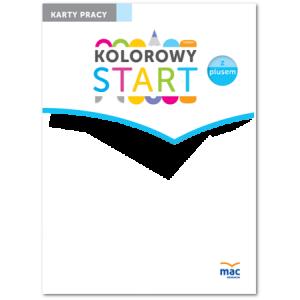 Kolorowy Start z Plusem (6-Latki).  Karty Pracy Część 4