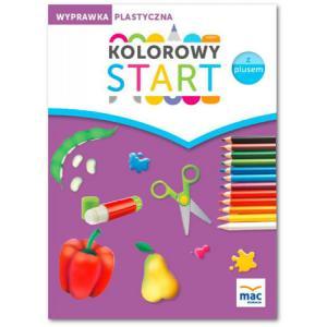 Kolorowy Start z Plusem (6-Latki). Wyprawka Plastyczna w Teczce