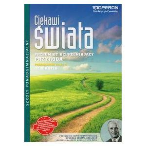 Ciekawi Świata Przedmiot Uzupełniający Przyroda LO podręcznik cz. 4 geografia wyd. 2015