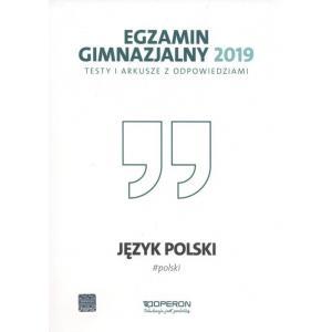 Egzamin gimnazjalny 2019 Testy i arkusze Język polski