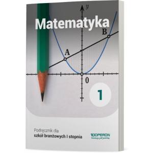 Matematyka 1. Szkoła Branżowa I Stopnia. Podręcznik