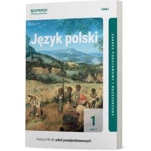 Język polski 1. Szkoła Ponadpodstawowa. Podręcznik. Część 2. Linia I. Zakres podst. i rozszerzony