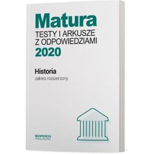 Matura 2020. Historia. Testy i Arkusze. Zakres Rozszerzony