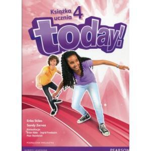 Today! 4. Podręcznik Wieloletni + MP3