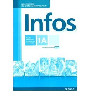 Infos 1A. Książka Nauczyciela + Testgenerator + Audio CD