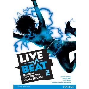 Live Beat 2. Materiał Ćwiczeniowy Exam Trainer (Do Wersji Wieloletniej) + MP3 Online