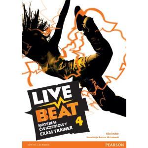 Live Beat 4. Materiał Ćwiczeniowy Exam Trainer (Do Wersji Wieloletniej) + MP3 Online