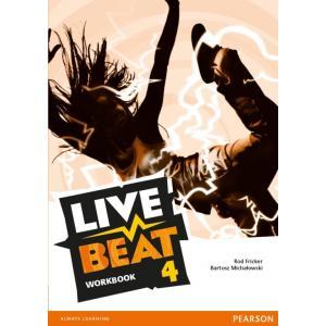 Live Beat 4. Ćwiczenia (do Podręcznika Wieloletniego)