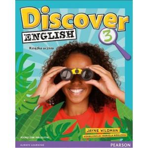 Discover English PL 3. Podręcznik Wieloletni + MP3