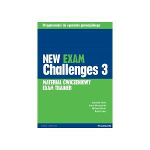 New Exam Challenges 3. Materiał Ćwiczeniowy Exam Trainer (Do Wersji Wieloletniej) + MP3 Online