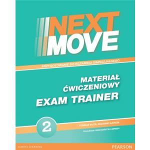 Next Move 2. Materiał Ćwiczeniowy Exam Trainer (Do Wersji Wieloletniej) + MP3 Online