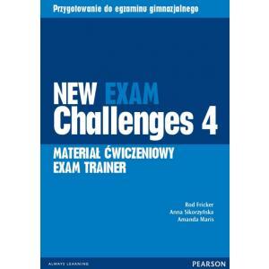 New Exam Challenges 4. Materiał Ćwiczeniowy Exam Trainer (Do Wersji Wieloletniej) + MP3 Online
