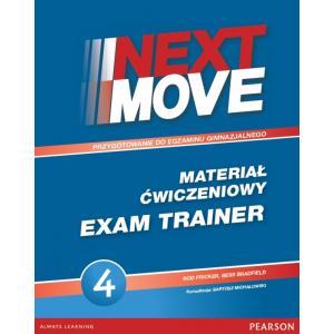 Next Move 4. Materiał Ćwiczeniowy Exam Trainer (Do Wersji Wieloletniej) + MP3 Online