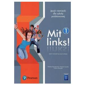 Mit links 1. Język niemiecki. Szkoła podstawowa klasa 7. Materiał ćwiczeniowy