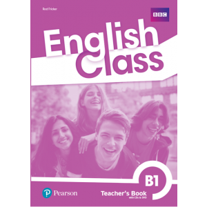 English Class B1. Książka nauczyciela + CD + DVD + kod do ActiveTeach
