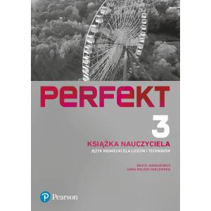 Perfekt 3. Język niemiecki. Liceum i technikum. Książka Nauczyciela