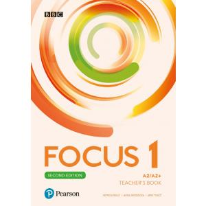 Focus Second Edition 1 Teacher's Book plus płyty audio, DVD-ROM i kod dostępu do Digital Resources