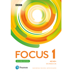 Focus Second Edition 1 Workbook + Online Practice