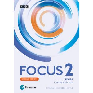 Focus Second Edition 2. Teacher's Book + CD + DVD + kod do Digital Resources