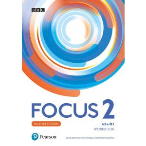Focus Second Edition 2. Workbook + kod (MyEnglishLab + Online Practice)